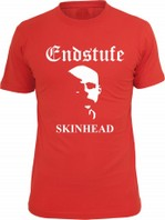 ENDSTUFE - Skinhead T-Shirt-ROT