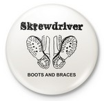 SKREWDRIVER - Boots & Braces Button
