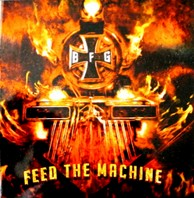 BOUND FOR GLORY – Feed The Machine CD