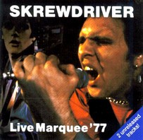 SKREWDRIVER – Live Marquee 77  CD